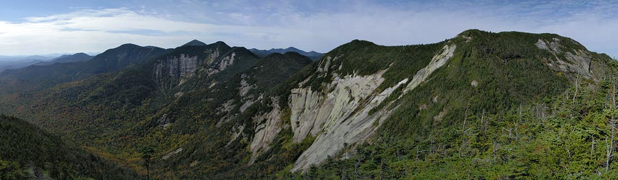 High Peaks Panorama: Haystack, Basin, Saddleback & Gothics from Pyramid