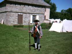 Johnstown Hall at a Revolutionary War Re-enactment, 6/13/2004