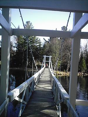 Wanakena footbridge